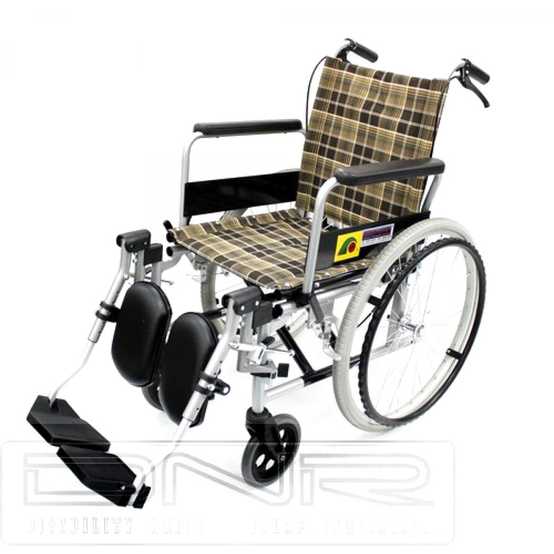 SANCTION LIGHTWEIGHT ELEVATING WHEELCHAIR WITH ASSISTED BRAKES - DNR Wheels