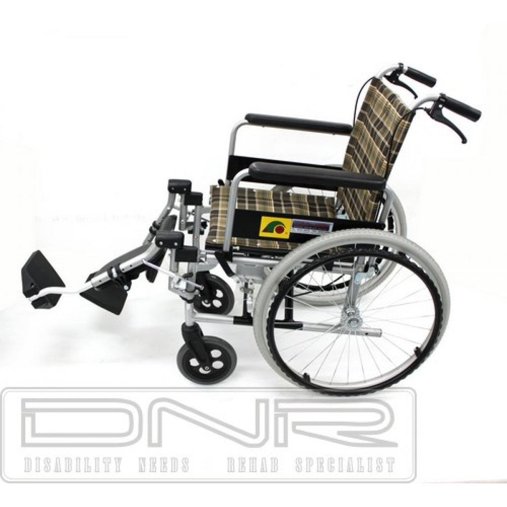 DNR Wheels - SANCTION LIGHTWEIGHT ELEVATING WHEELCHAIR WITH ASSISTED BRAKES