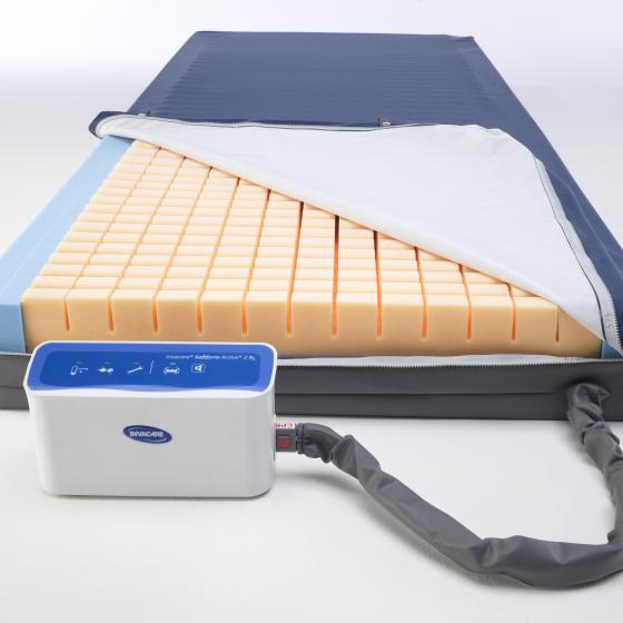 Invacare Softform Premier Active 2 Hybrid Mattress with RX Pump