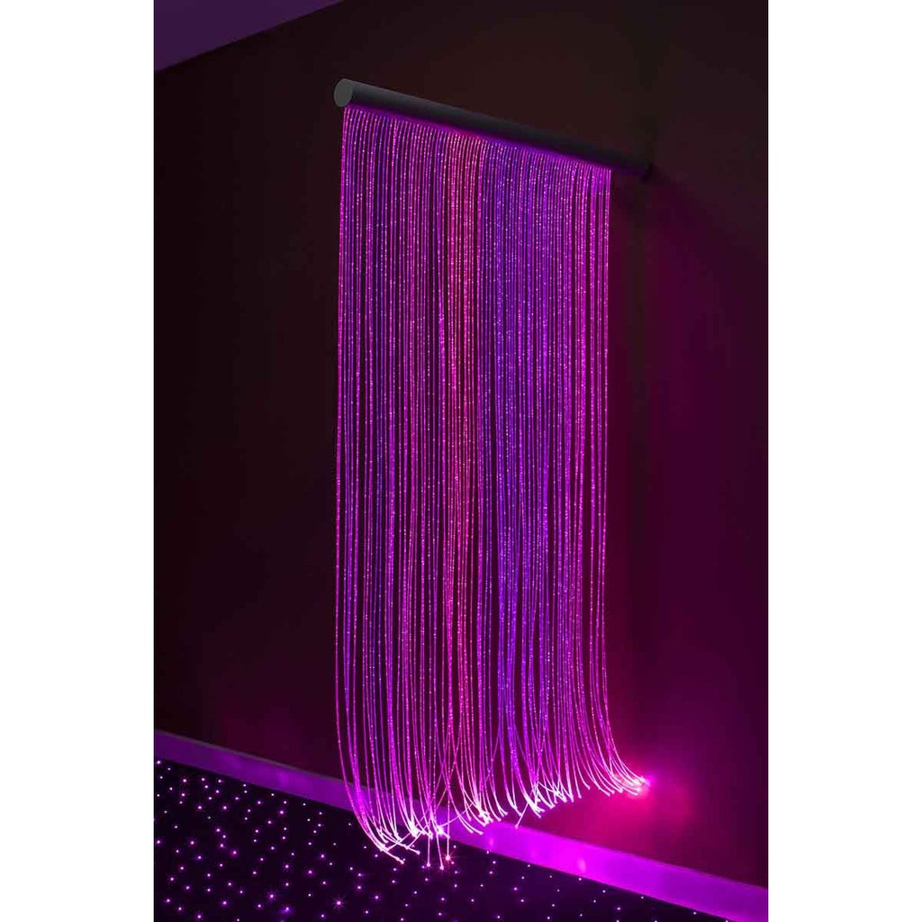 LED Fiber Optic Wall Cascade - DNR WHEELS PTE LTD