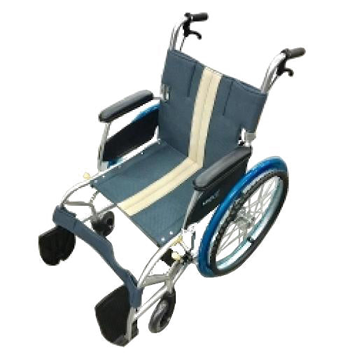 NISSIN ALPHA Lightweight Wheelchair 18""