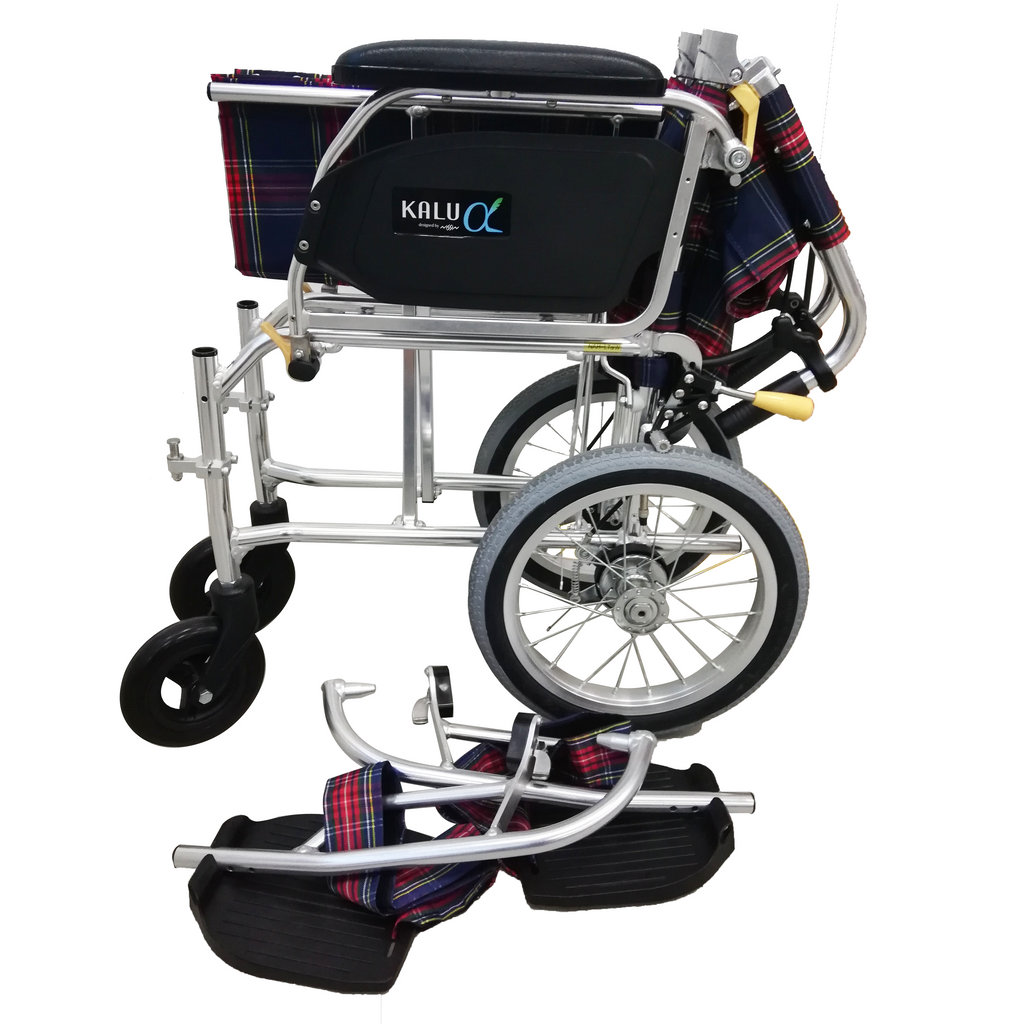NISSIN Lightweight Detachable Pushchair with Assisted Brakes
