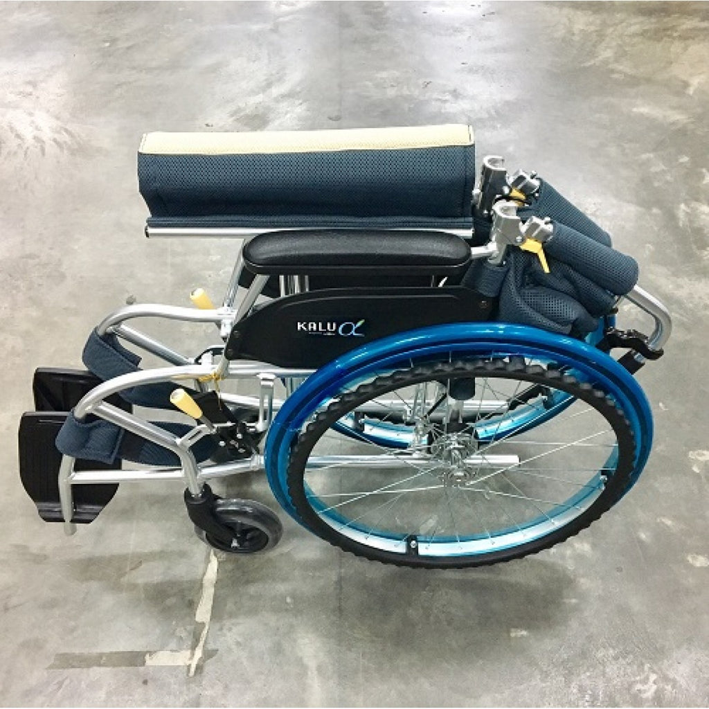 NISSIN ALPHA LIGHTWEIGHT WHEELCHAIR - DNR WHEELS PTE LTD