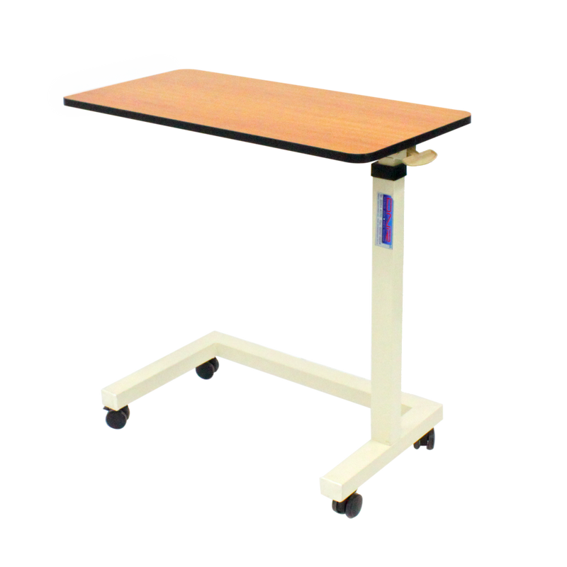 ABS Overbed Table with H-Base