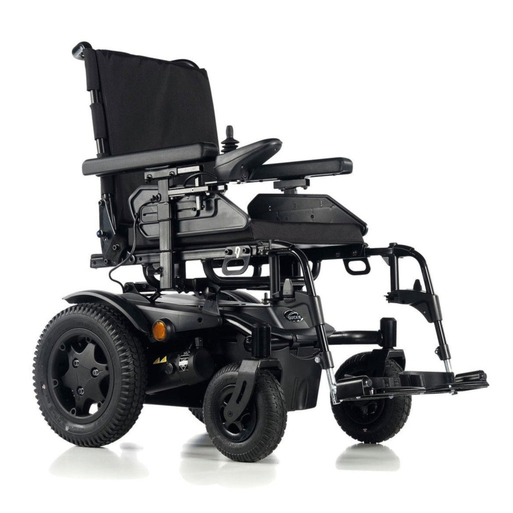 Sunrise Medical Quickie Q200 R Rear-Wheel Powered Wheelchair