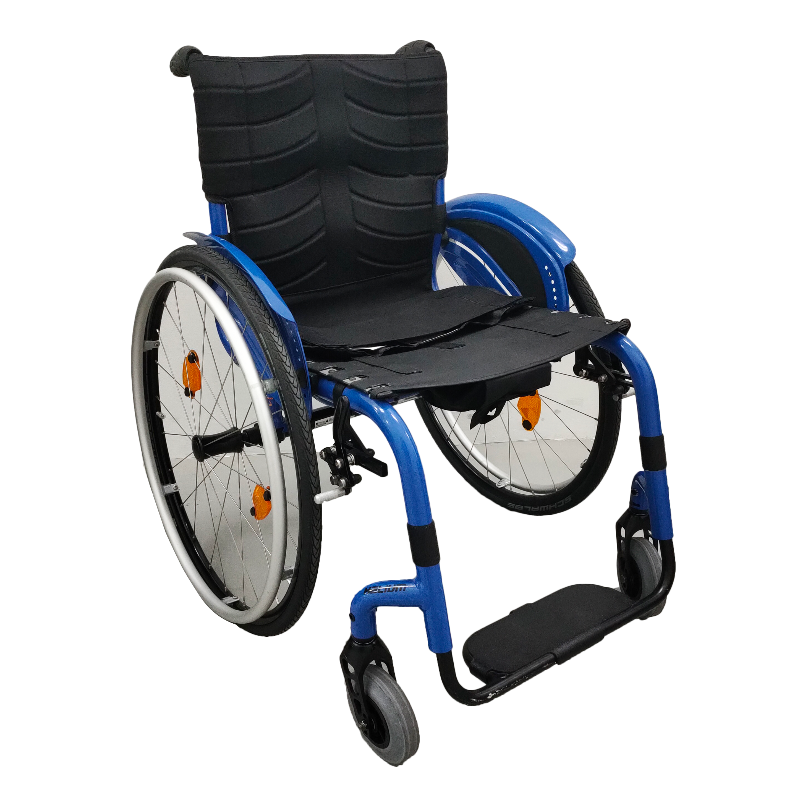 Quickie Helium Lightweight Rigid Wheelchair front view