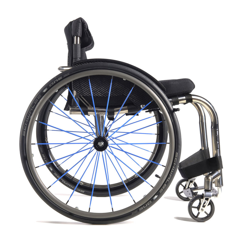 RGK Octane Sub4 Lightest Titanium Rigid Active Wheelchair