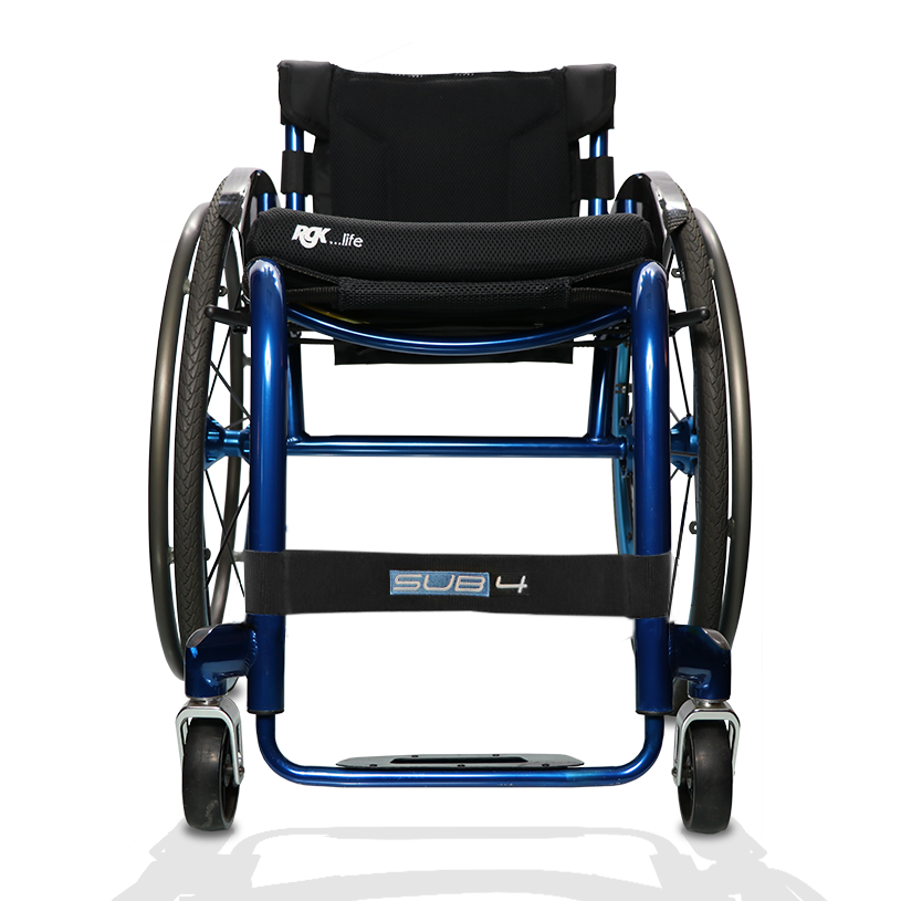 RGK Tiga Sub4 Ultra-Lightweight Aluminium Rigid Active Wheelchair blue