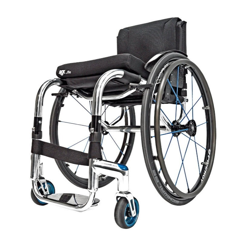 RGK Tiga FX Lightweight Aluminium Folding Active Wheelchair
