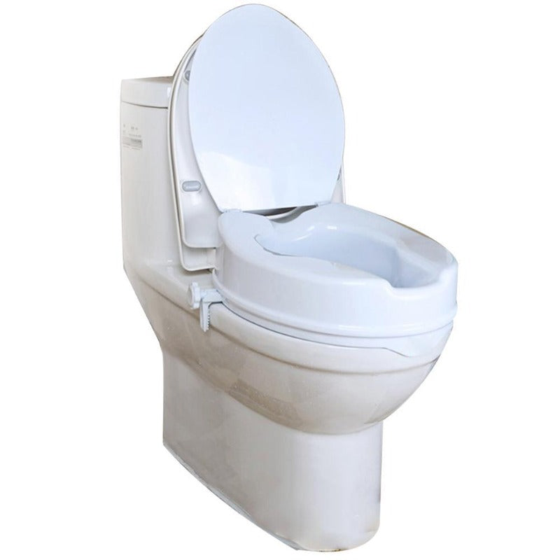 Raised Toilet Seat with Clamp-On (on toilet bowl)
