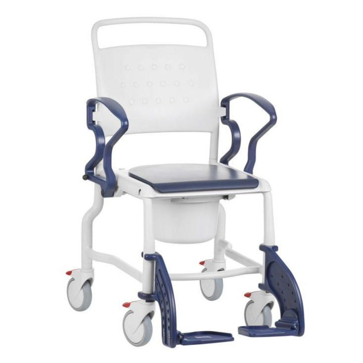 Rebotec Bonn Mobile Shower Commode Chair 18""