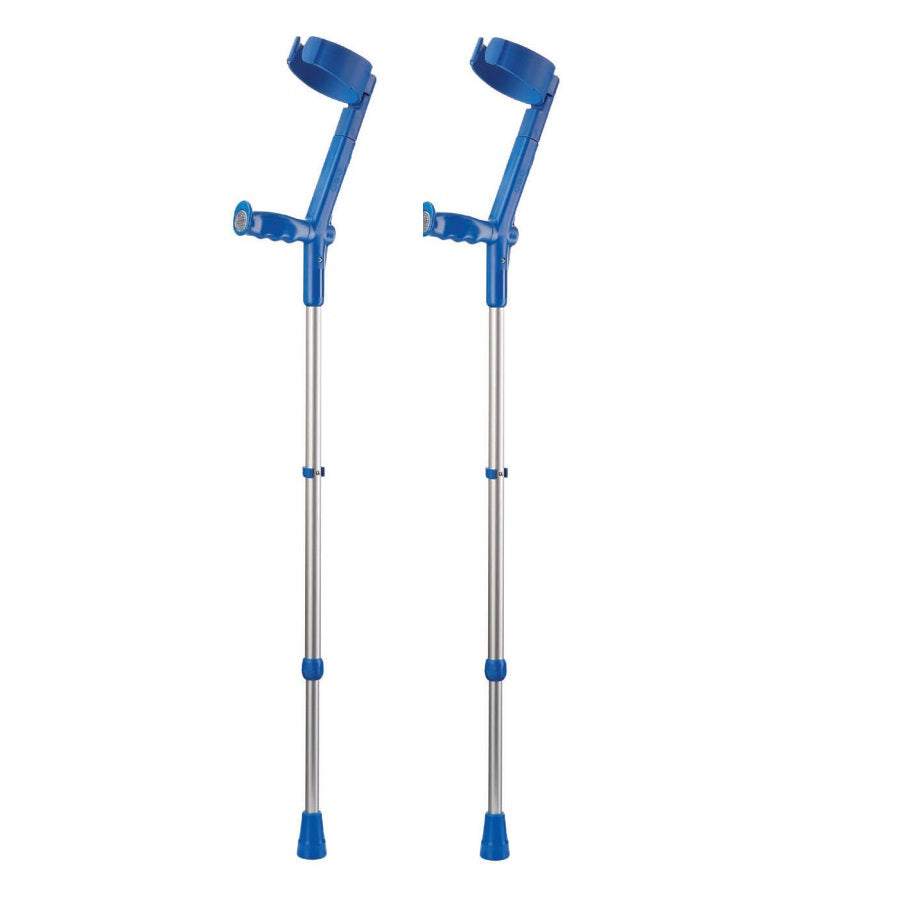 Rebotec Safe-In-Soft Elbow Crutch (Pair)