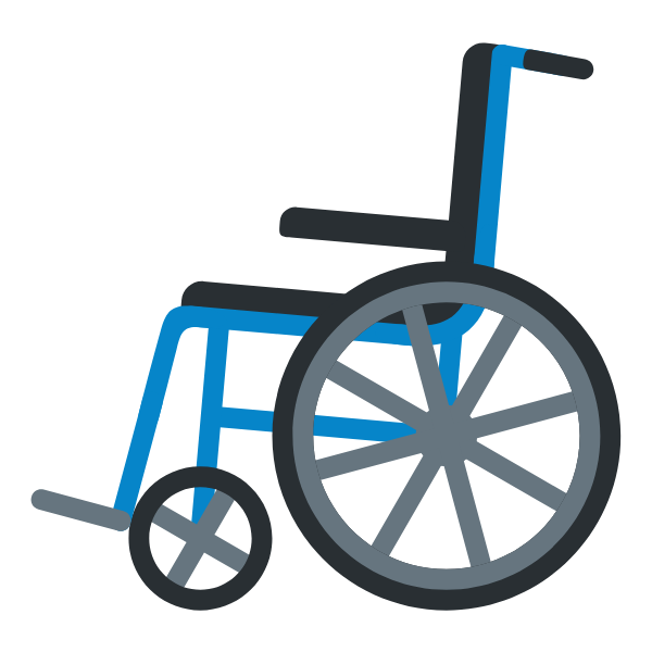 Rental Lightweight Wheelchair