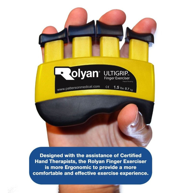 Rolyan Ultigrip Finger Exercisers ergonomic design