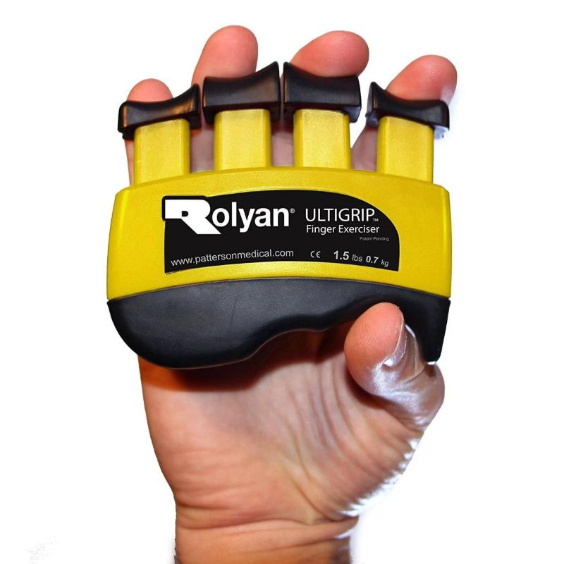 Rolyan Ultigrip Finger Exercisers yellow