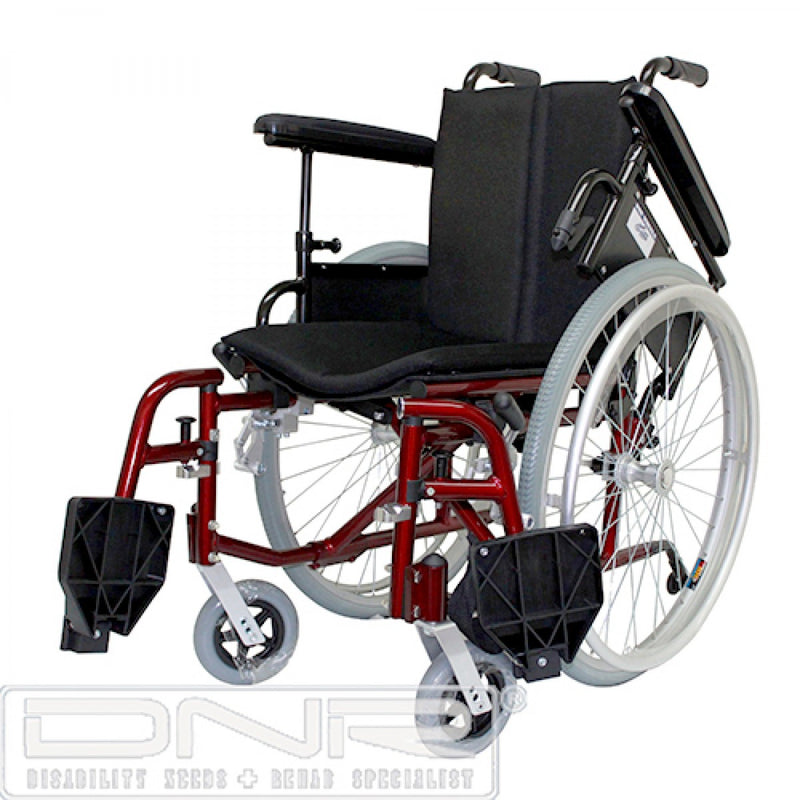 DNR Wheels - SEMI-CUSTOM BUILT LIGHTWEIGHT DETACHABLE WHEELCHAIR