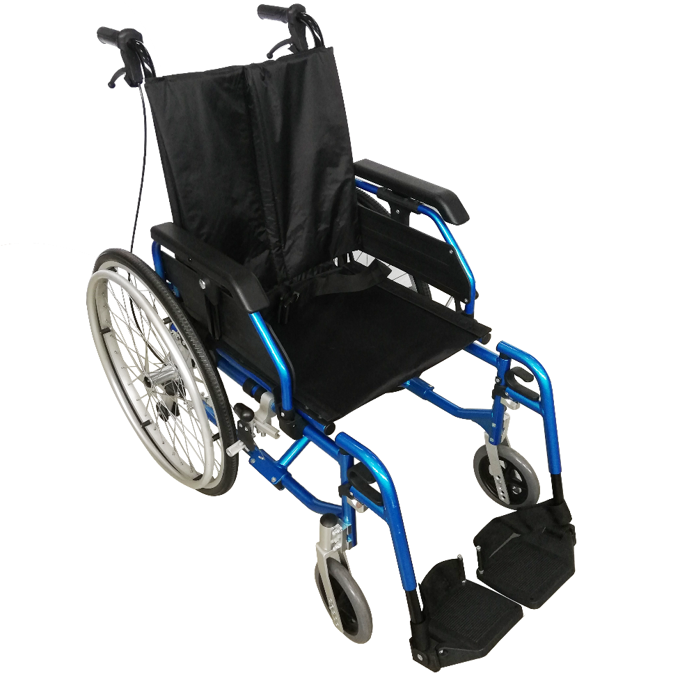 Aplus Semi-Custom-Built Lightweight Detachable Wheelchair
