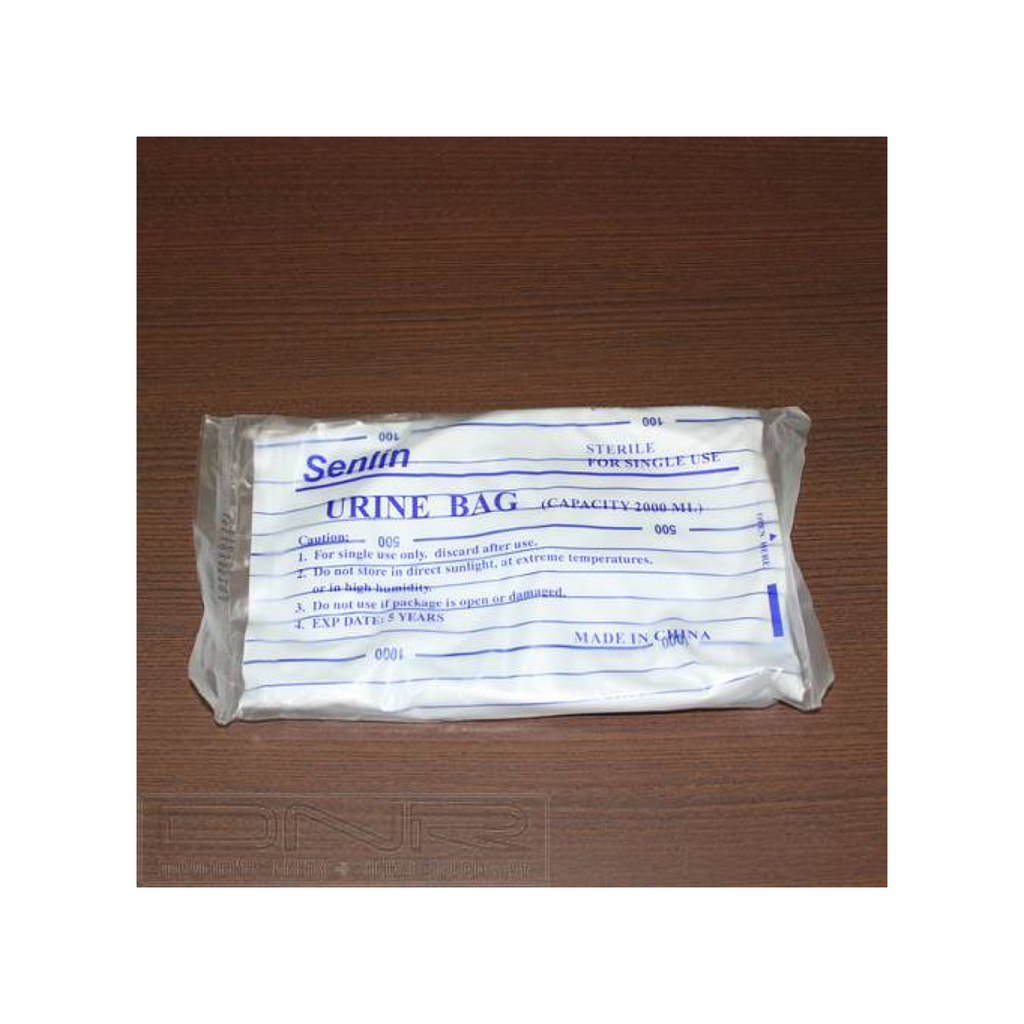 Senlin 2L Urine Bag (Uno) - DNR WHEELS PTE LTD