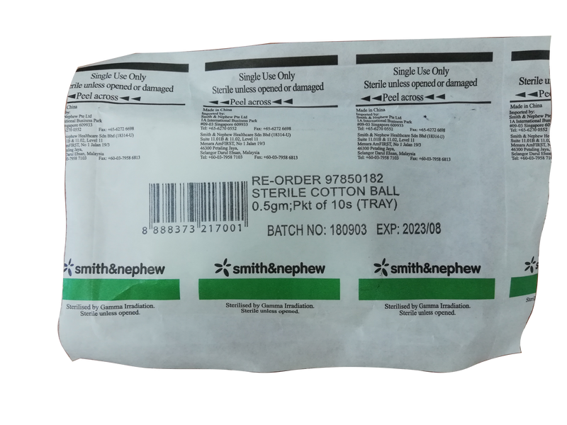 Smith & Nephew Sterile Cotton Ball