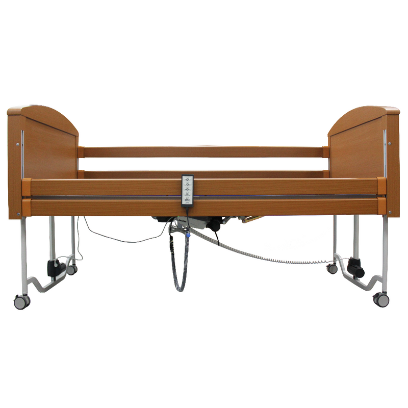 Sofia 5 Functions Wooden Bed highest position