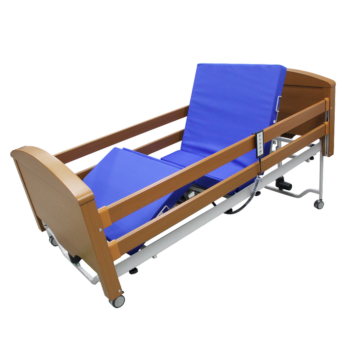 Sofia 5 Functions Wooden Bed sitting position