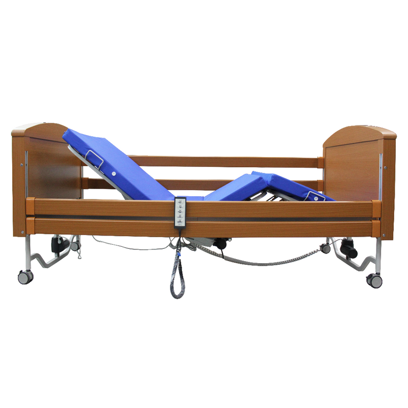 Sofia 5 Functions Wooden Bed back recline & leg elevating
