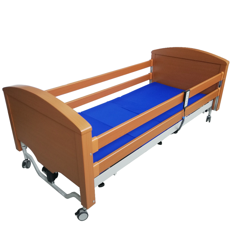 Sofia 5 Functions Wooden Bed full view
