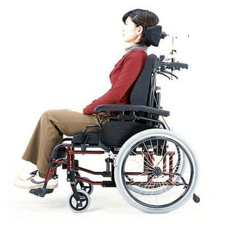 Superhead Support on Wheelchair