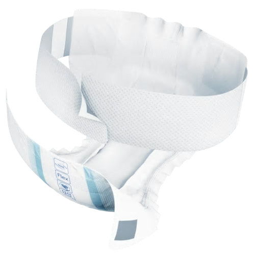TENA Flex Plus Diapers with Waist Belt