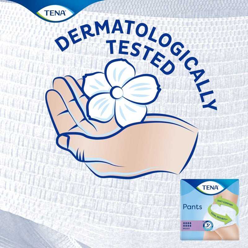 Tena Pants Maxi dermatologically tested