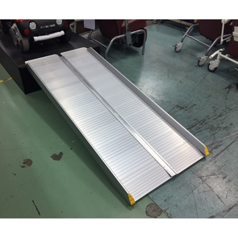 DNR Wheels - Bi-fold Aluminium Portable Medical Ramp