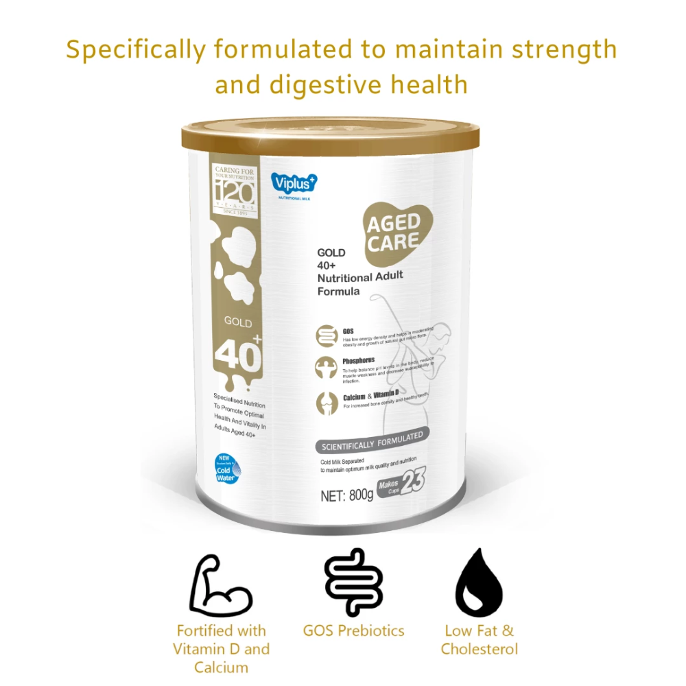 Viplus Gold 40+ Nutritional Adult Formula 800g