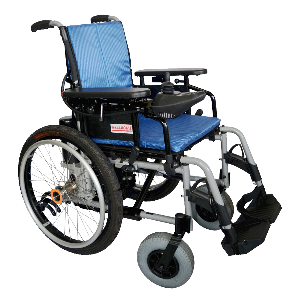 Sunset Motorised Foldable Wheelchair
