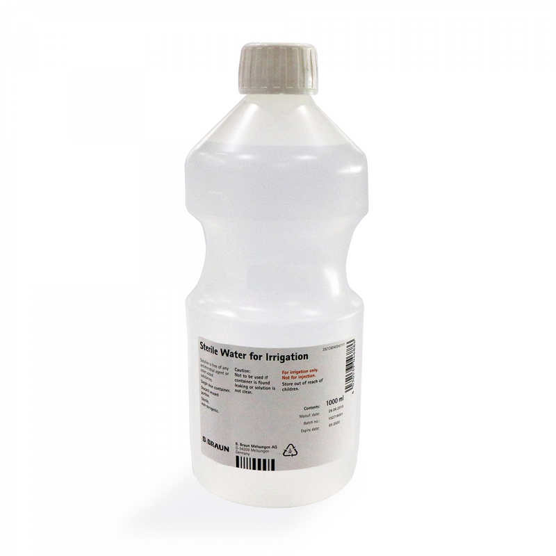 Sterile Water For Irrigation 1000mL - DNR WHEELS PTE LTD