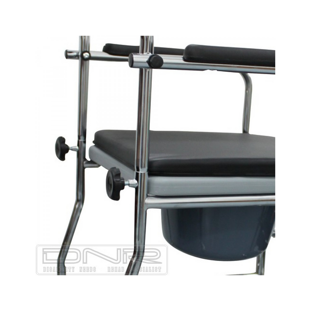 Seat for Chrome 3-in-1 Commode - DNR Wheels