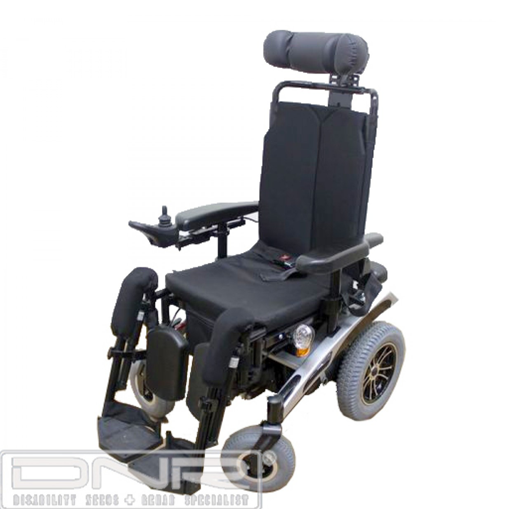 DNR Wheels - Tilt & Recline Powered Wheelchair with Elevating Footrests