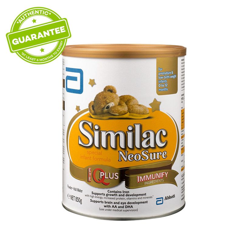Similac Neosure Infant Formula 850GM - DNR Wheels