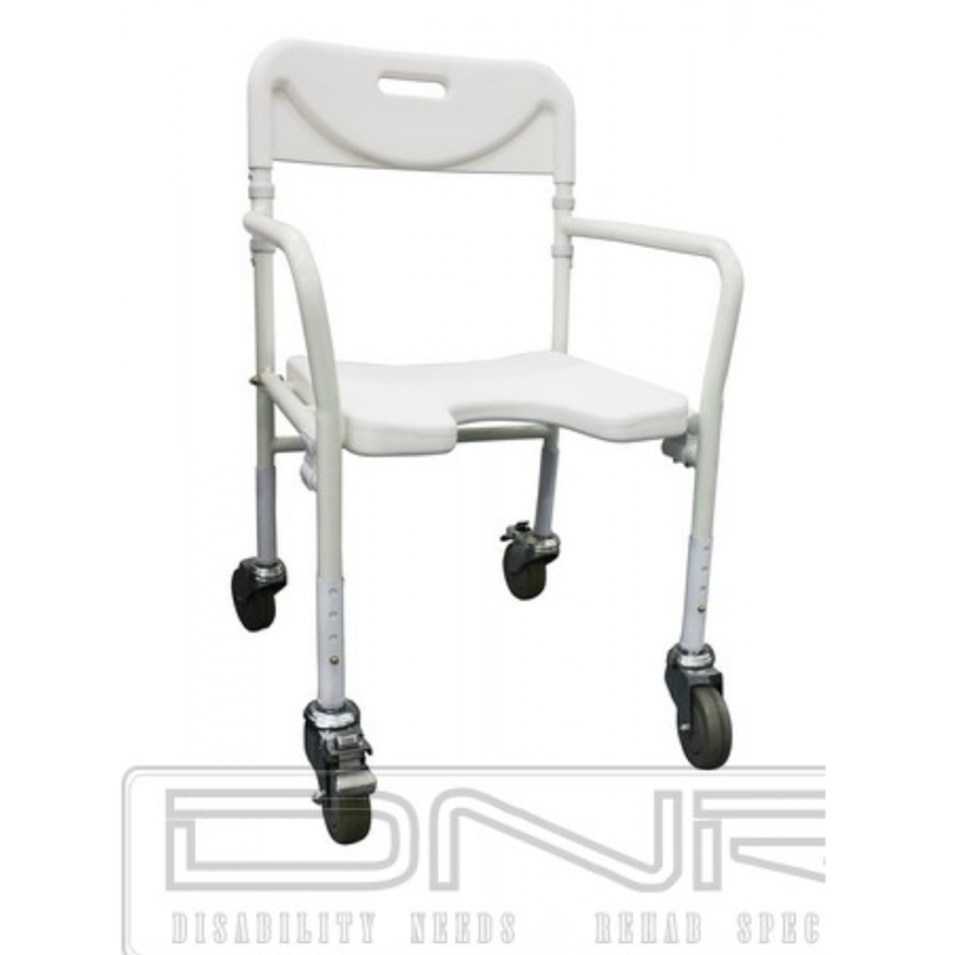 DNR Wheels - Flowa Foldable Mobile Shower Chair
