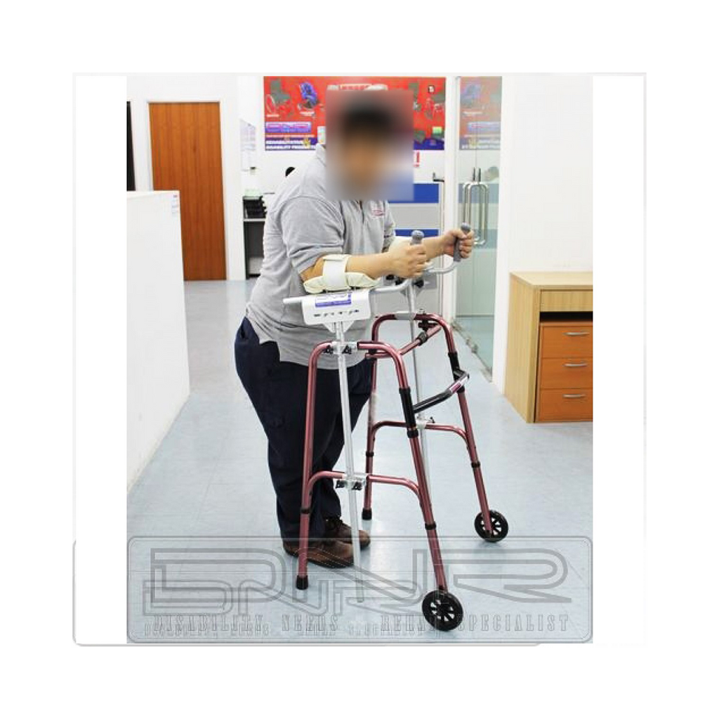 Foldable Walking Frame with Platform Crutch - DNR Wheels
