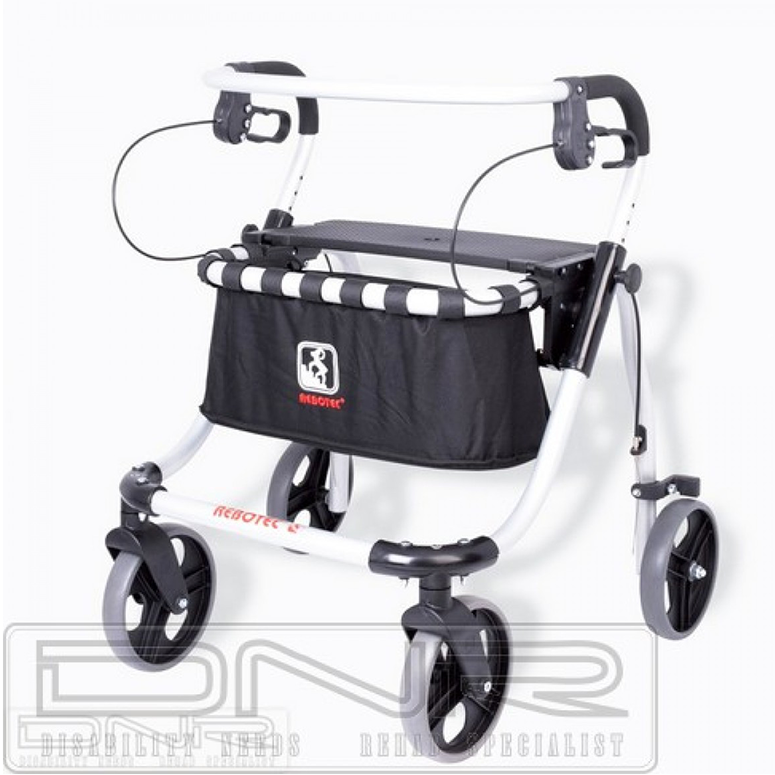Rebotec Polo Plus-T Rollator - DNR Wheels