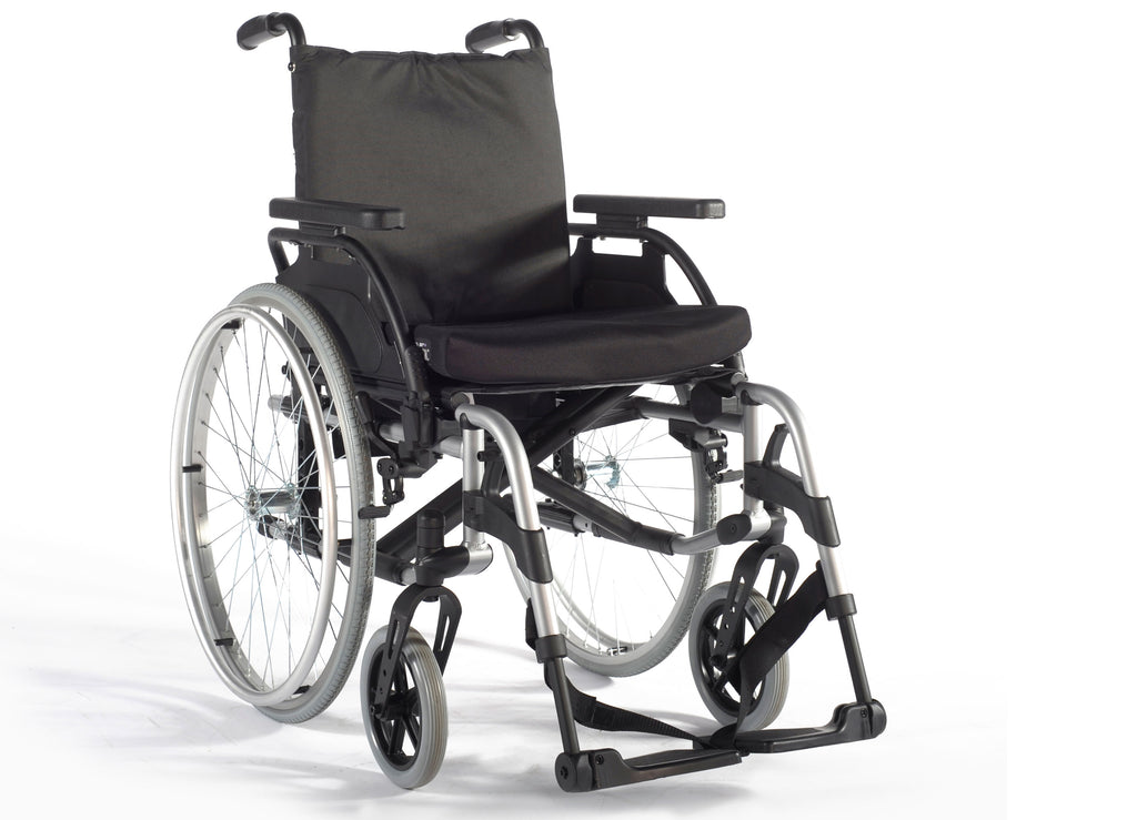 DNR Wheels - Breezy BasiX 2 Lightweight Detachable Wheelchair
