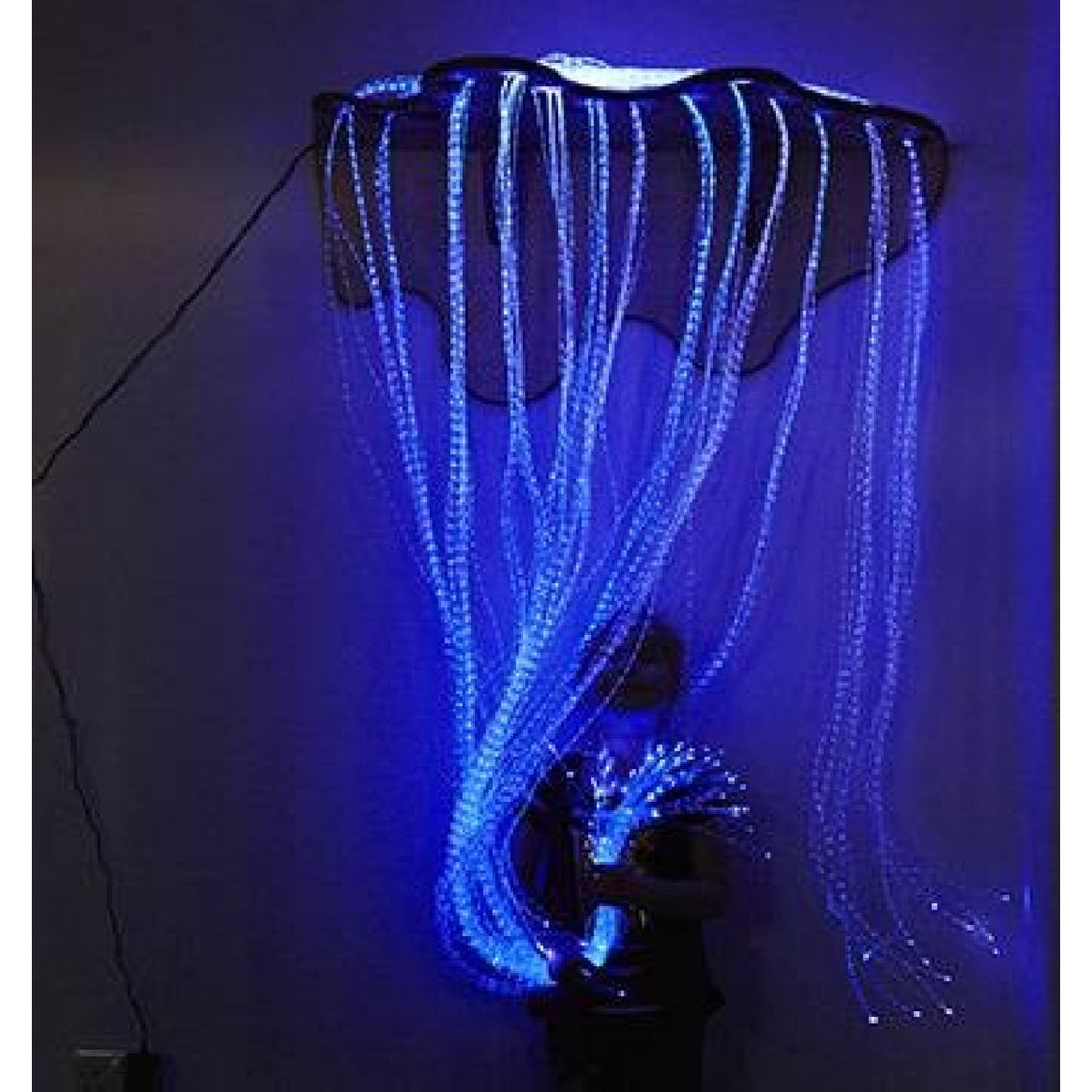 LED Fibre Optic Shimmering Curtain - DNR WHEELS PTE LTD
