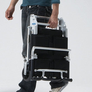 NISSIN SUPER LIGHTWEIGHT TRAVEL CHAIR - DNR WHEELS PTE LTD