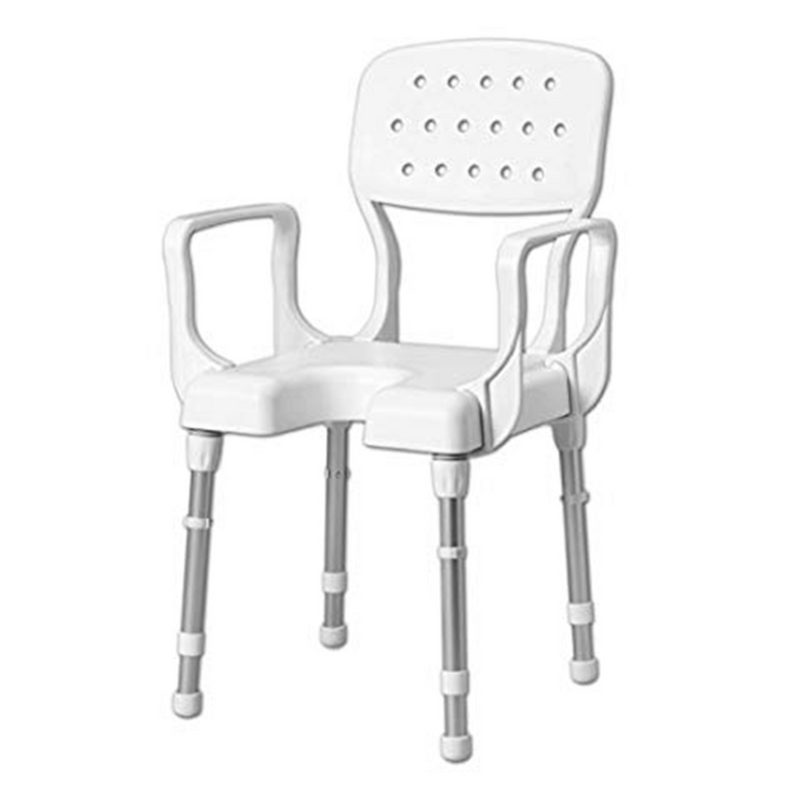 Flowa Foldable Mobile Shower Chair