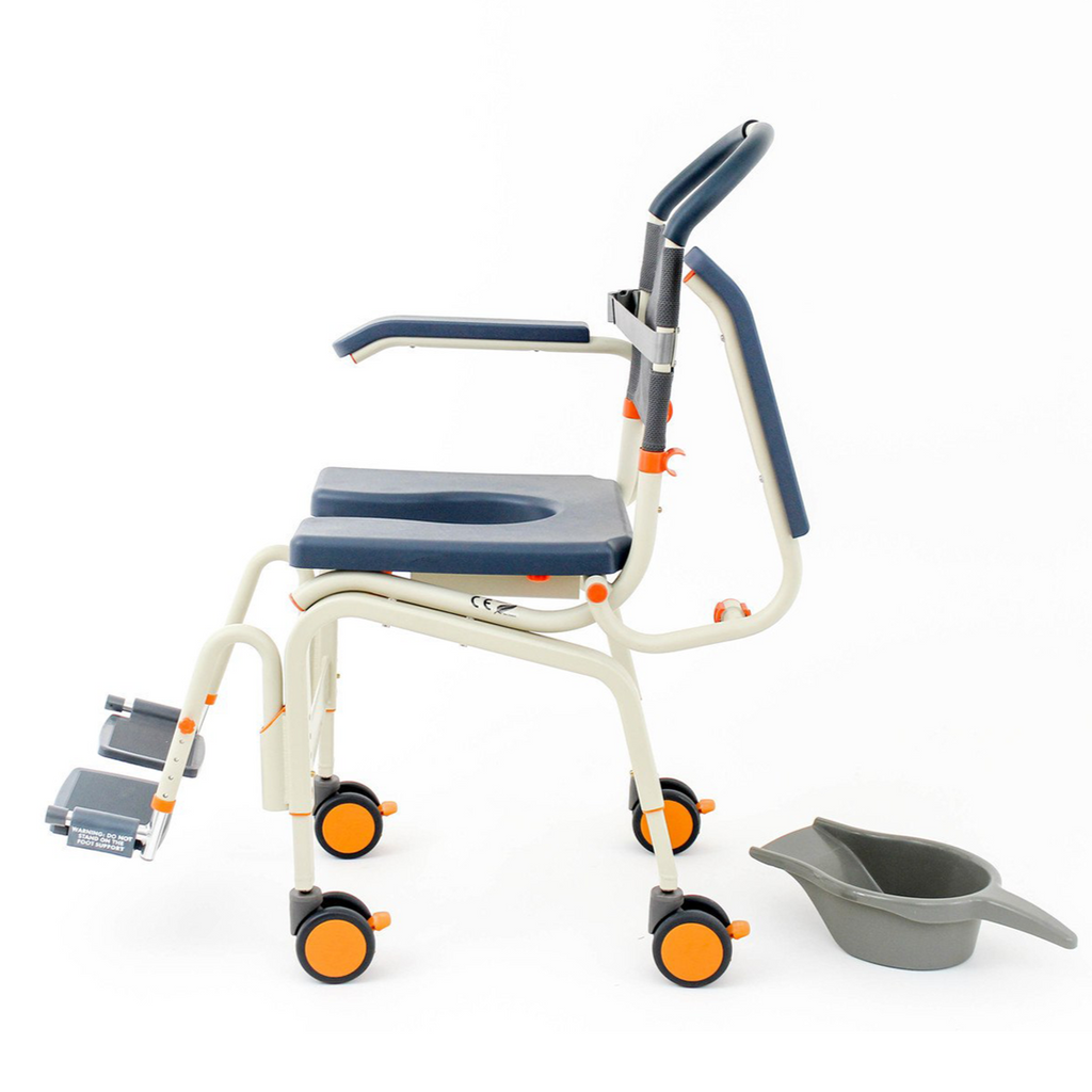 DNR Wheels - Shower Buddy Roll-InBuddy Lite Mobile Commode