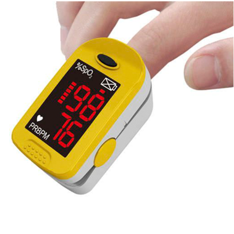 OxyWatch Finger Pulse Oximeter - DNR WHEELS PTE LTD