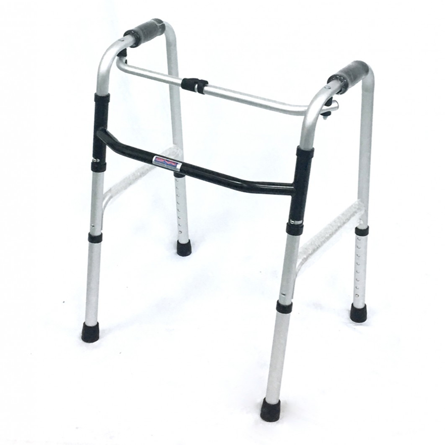 Foldable Reciprocal Walking Frame - DNR Wheels