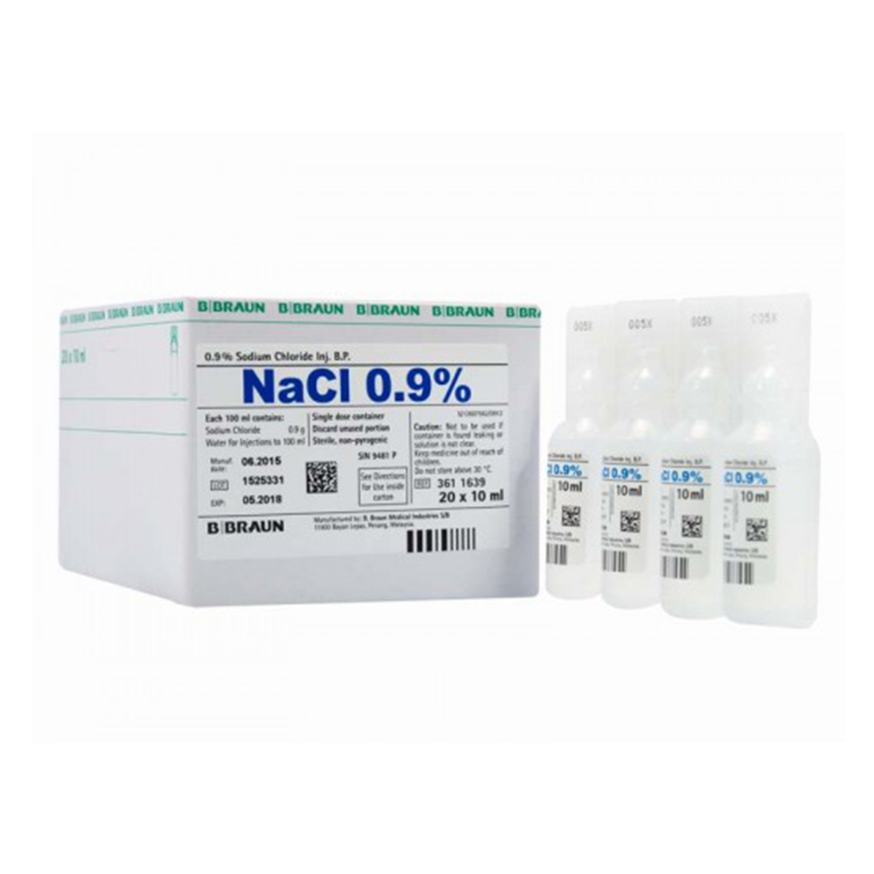 Sodium Chloride 0.9% for Injection - DNR WHEELS PTE LTD