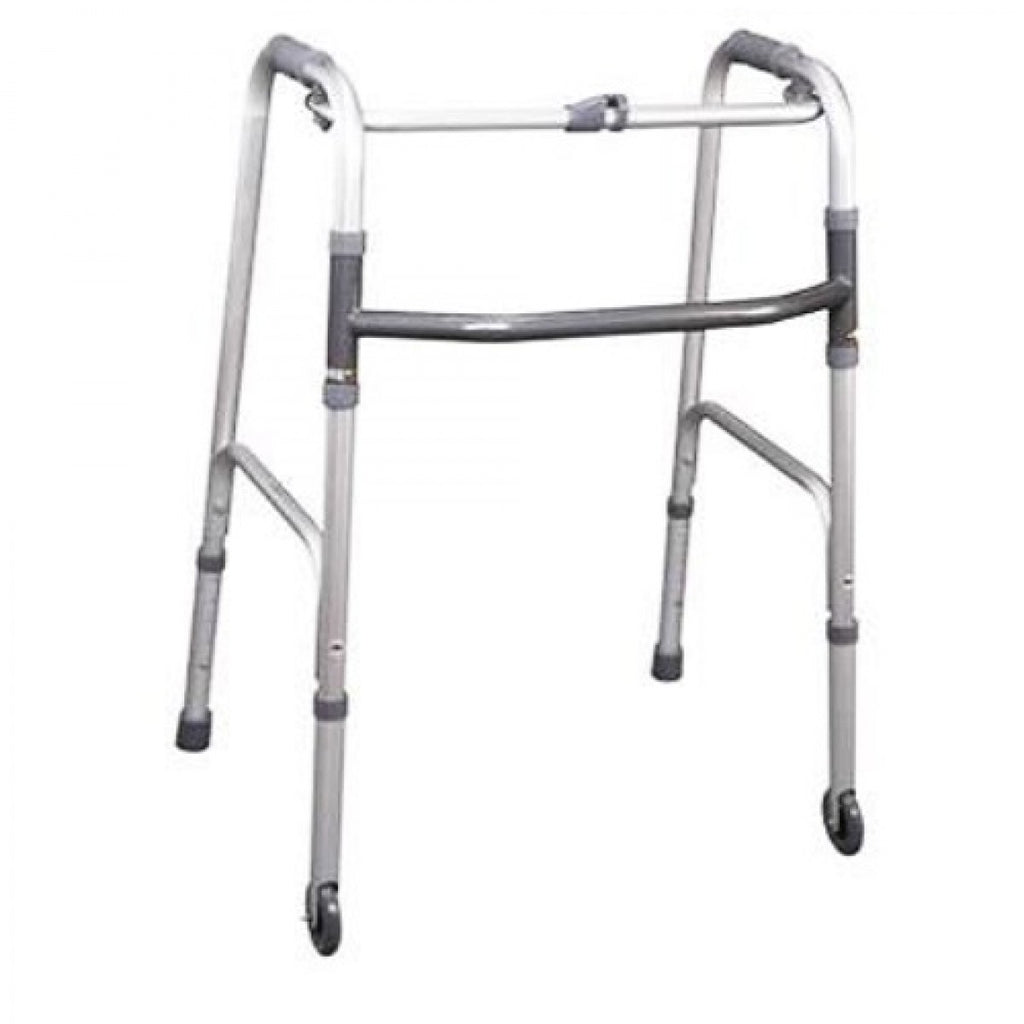"DNR Wheels - Foldable Walking Frame with 3"" Front Castors"