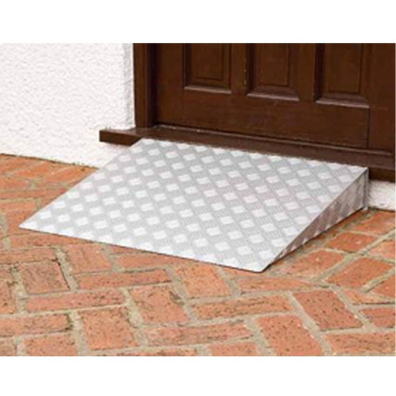 Bi-fold Aluminium Portable Medical Ramp
